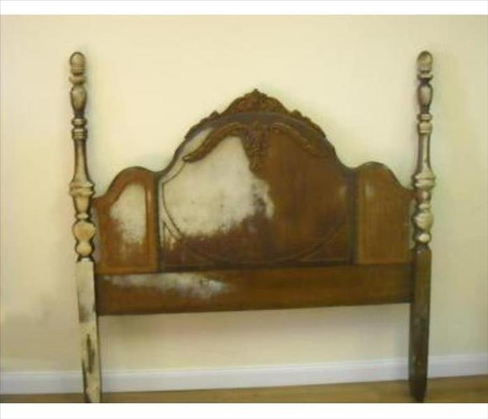 Head board with damage