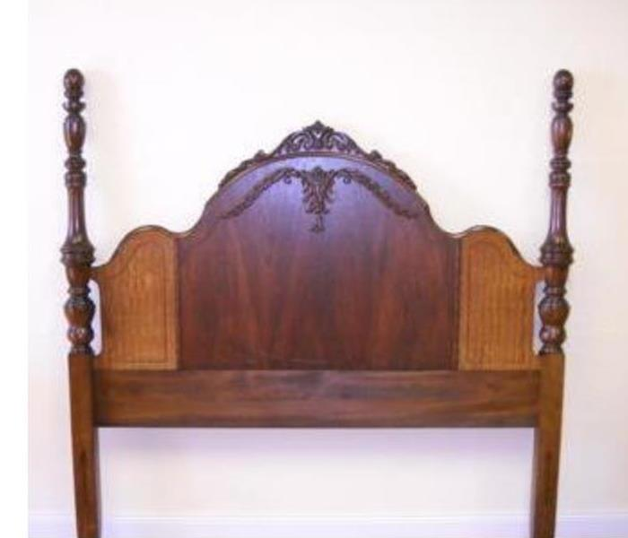 head board after restoration