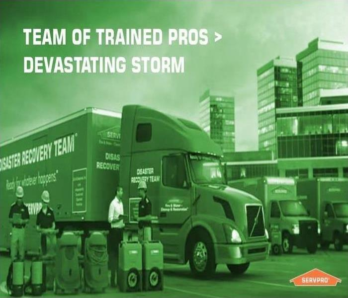 Storm Damage When Storms or Floods Hit, SERVPRO of Douglasville is Ready!!